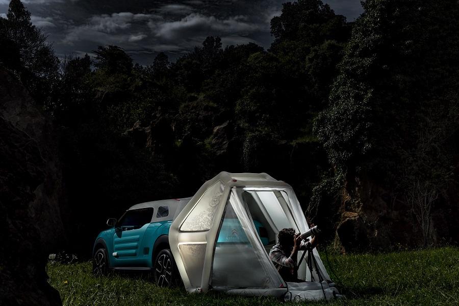 ¿Y si acampamos aquí esta noche?