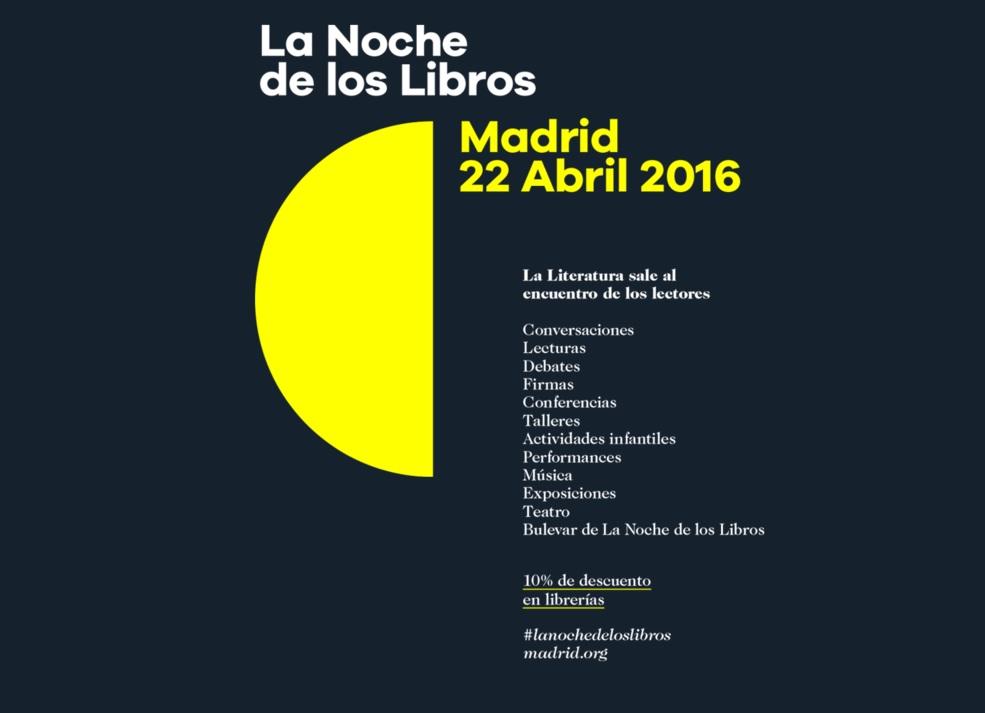 'La Noche de los Libros' celebra este año su XI edición