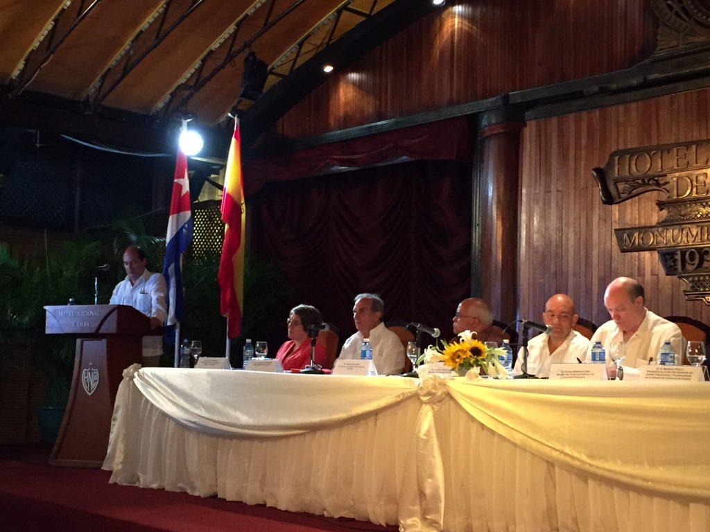 Sesión Comite Bilateral Cuba España