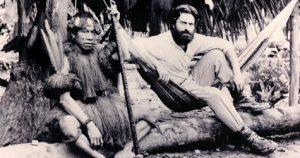 En estos años, de la Quadra tiene sus primeros encuentros con indígenas