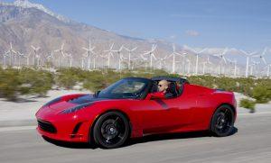 El Tesla Roadster, el primer deportivo totalmente eléctrico
