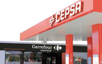 Carrefour Express seguirá abriendo tiendas en gasolineras Cepsa hasta 2021