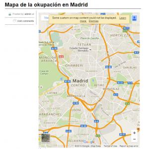 mapa okupación