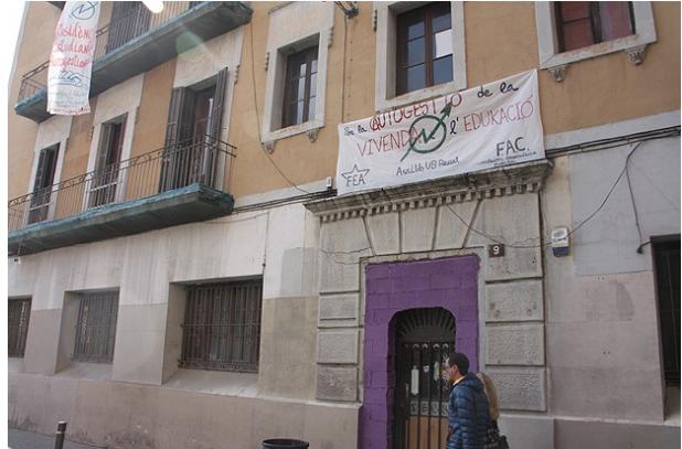 okupación Barcelona
