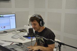 """Molo Cebrián: """"El único sitio donde me veo viviendo la radio con pasión es aquí"""""""