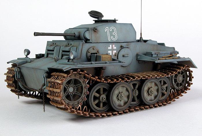 Panzer II, perfeccionando el modelo en España