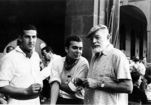 Hemingway, enamorado de los Sanfermines
