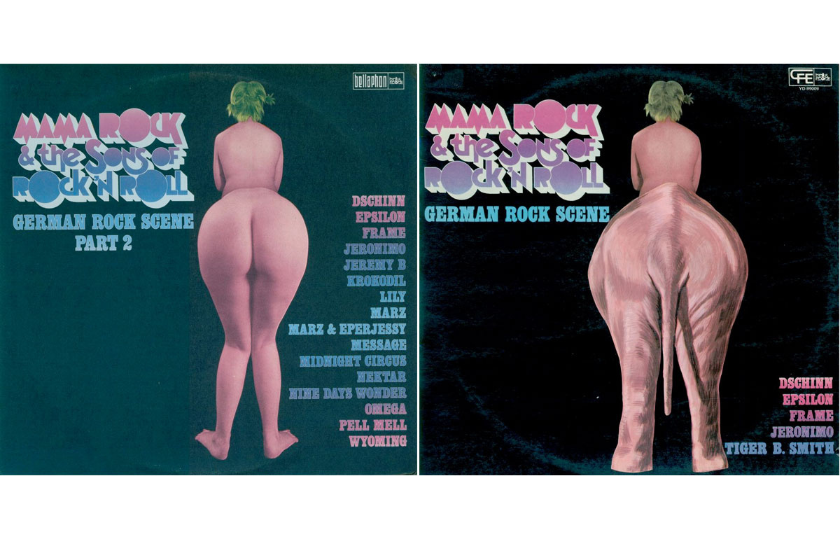 "Disco recopilatorio de bandas alemanas de kraut-rock ""Mama rock and the sons of rock'n'roll"" (1973)"