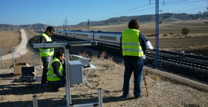 Tramo del Anillo Ferroviario de Antequera en Málaga