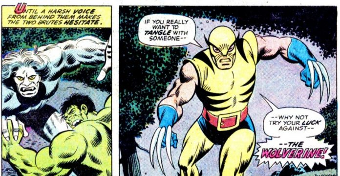 El Wolverine de Herb Trimpe irrumpió por primera vez en las páginas de Hulk