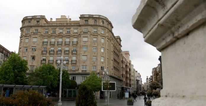 El edificio en la Plaza de Zorrilla
