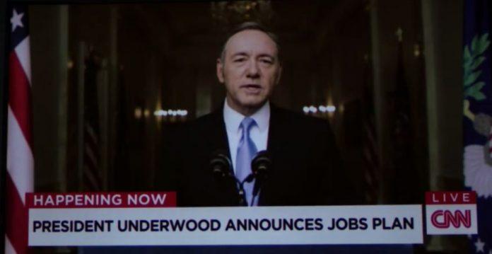 Frank Underwood presenta nuevas medidas