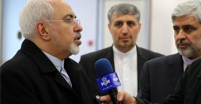 Zarif se dirige en Madrid a los medios de su país