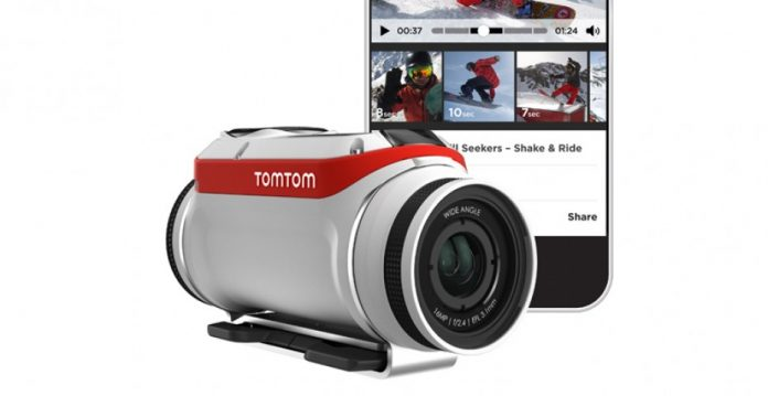 TomTom Bandit, la nueva cámara de acción que edita nuestros vídeos con solo agitar el smatphone