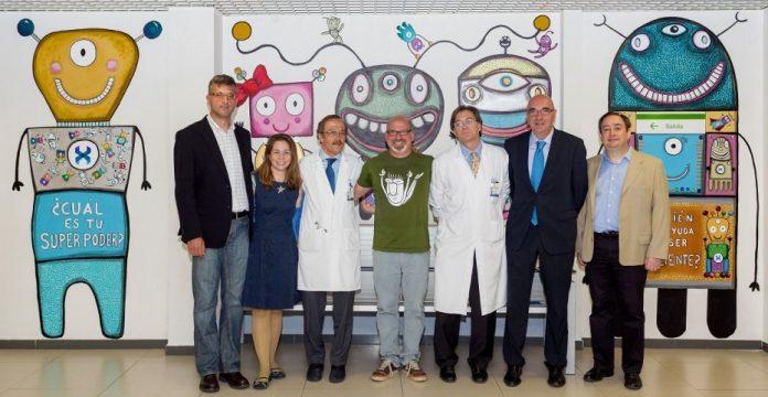 Presentación del proyecto GenXperT / MiRobotX en el Hospital La Paz (Madrid)