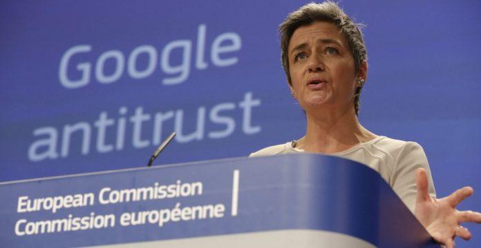 La comisaria europea de Competencia, Margrethe Vestager
