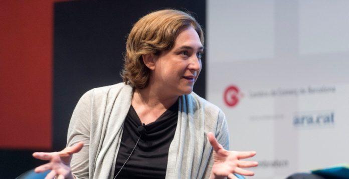 La candidata de Barcelona en Comú, Ada Colau