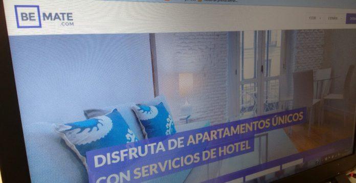 La cadena Room Mate lanzó el año pasado una plataforma de alquiler de apartamentos, Be Mate.