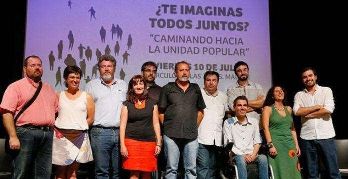 Los impulsores de Ahora en Común piden una candidatura popular del estilo de las de Carmena y Colau.