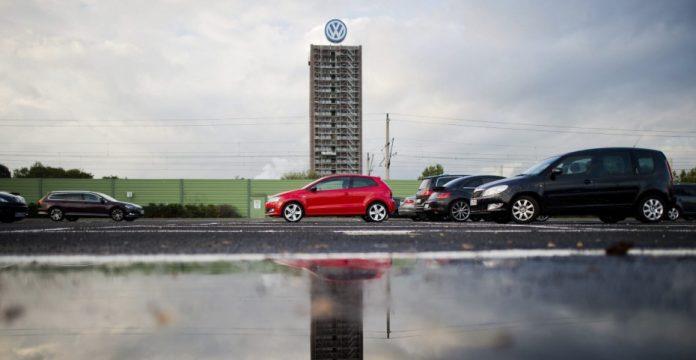 Vista de la planta de Volkswagen en la ciudad alemana de Wolfsburgo.