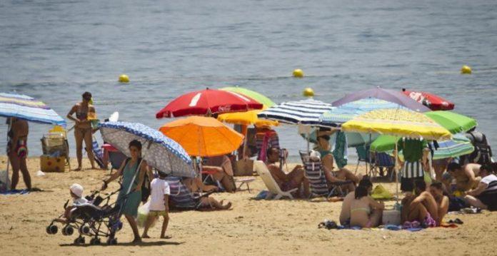 La playa como reclamo