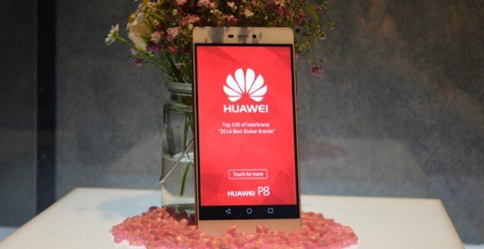 Después del Huawei P6 y el P7, llega a Orange el Huawei P8 también en rosa.
