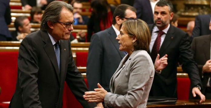 Artur Mas y Carmen Forcadell