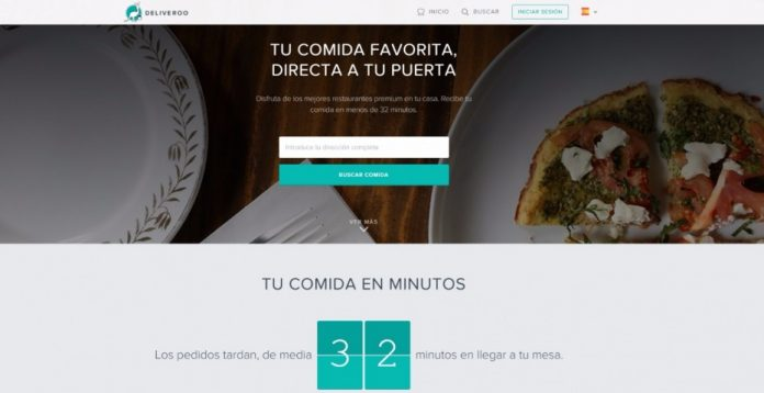 Deliveroo: comida de alta calidad a domicilio
