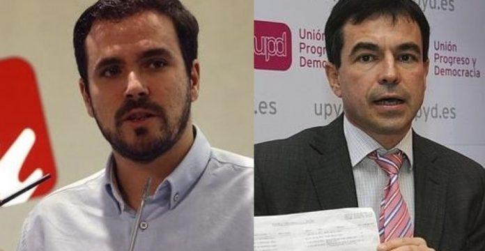 Alberto Garzón y Andrés Herzog