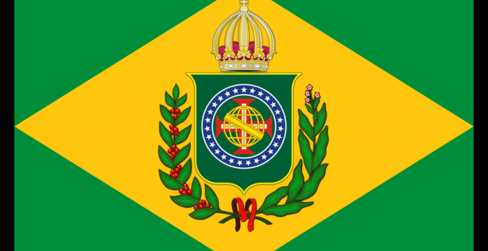Bandera imperial brasileña