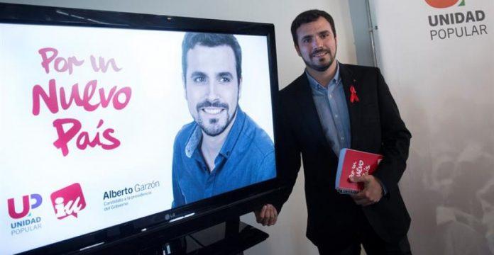 Garzón apuesta por la austeridad en campaña