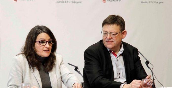 Mónica Oltra y Ximo Puig