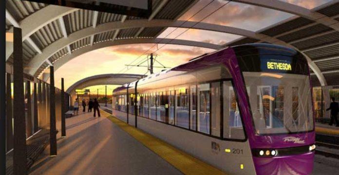 CAF podría construir los vagones de Purple Line, el tren ligero de Maryland