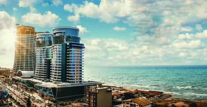 Imagen del futuro Gran Meliá Ghoo, a orillas del mar Caspio.