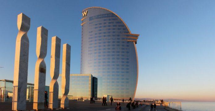 El hotel W de Barcelona, uno de los que gestiona Starwood en España.