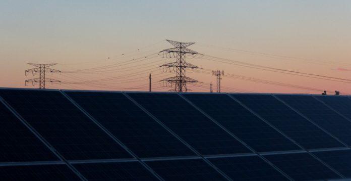 Paneles fotovoltaicos.