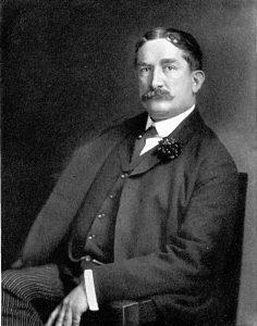 """Thomas Lawson, broker y escritor de """"Viernes, el XIII"""""""