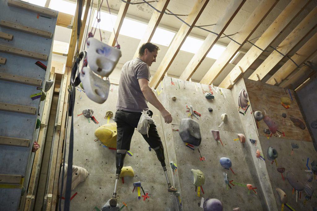 EPO 16 Hugh Herr climbing