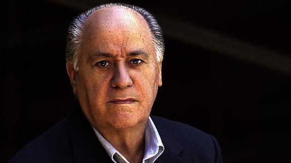 El filántropo Amancio Ortega